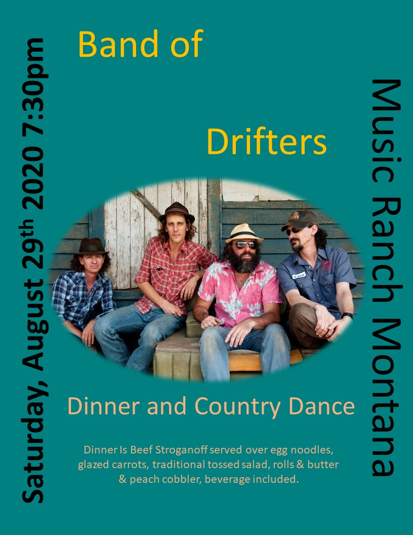 Band Of Drifters Poster