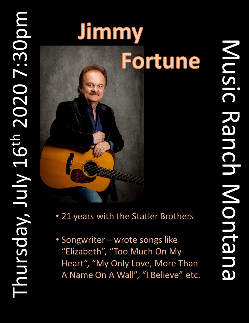 Jimmy Fortune Poster