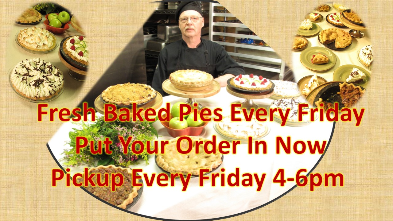 Order Fresh Baked Pies